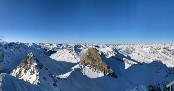 Мороз и солнце. И горы. Что ещё нужно? Valluga
