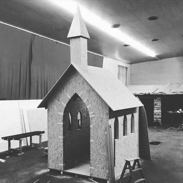 """Unsere Kapelle für """"Der Johanniter Code"""" #escapegame #escaperoom #klösterleamarlberg #johanniter #oasek77"""