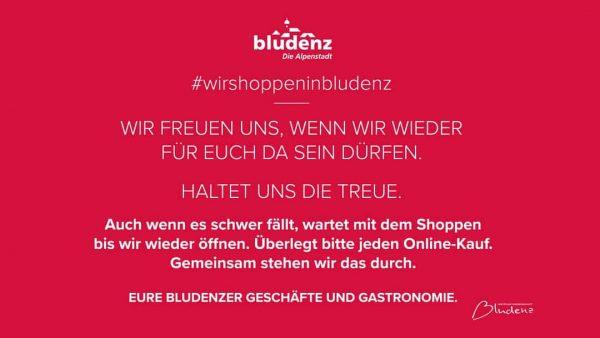#wirshoppeninbludenz #bludenz #vorarlberg #stayathome #wirhaltenzusammen #alpenregion #handel #tourismus #gastronomie #einkaufen #bludazebtzenna #bleibtgesund Bludenz