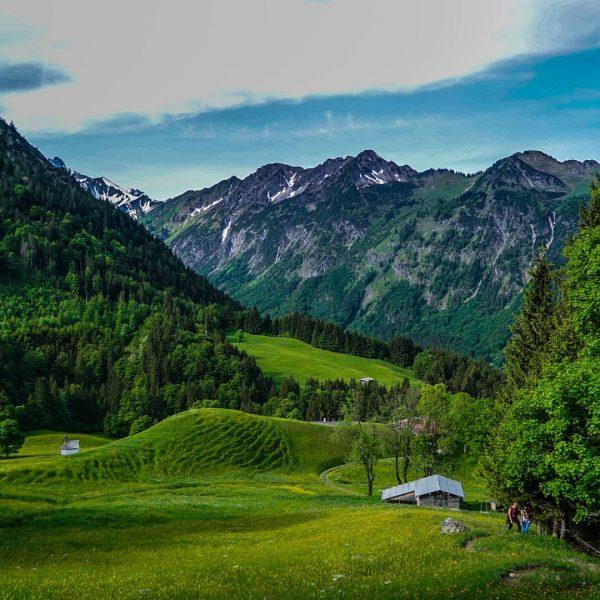 Beautiful day hike with friends in the Allgäu Alps. #oberstdorf #allgäu #alpen #alps ...