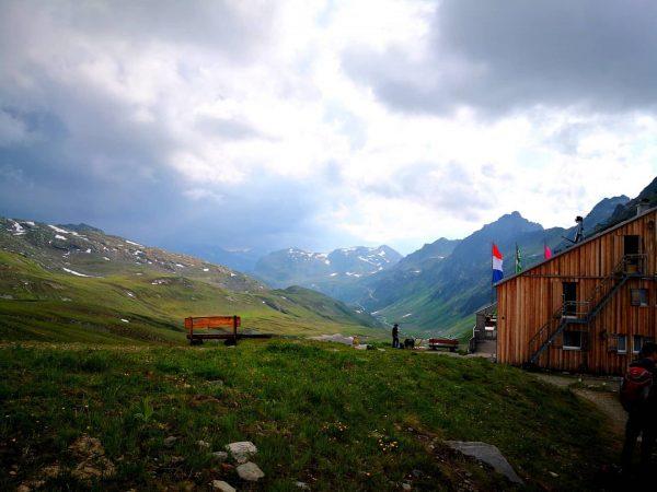 #beautiful #mountains #summer #2019 #österreich #heilbronnerhütte #walking Neue Heilbronner Hütte