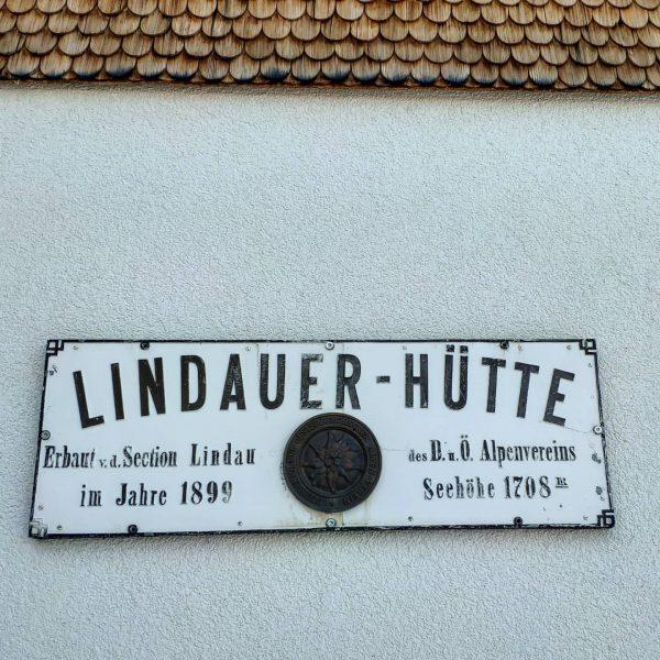 Früher Winterraum, heute Berghotel mit Sauna 🤷♂️ Lindauer Hütte