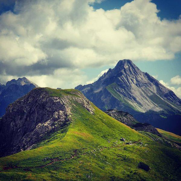 Grosser Widderstein ... hope to see you soon !! #bregenzerwald #widderstein #alps #alpen ...