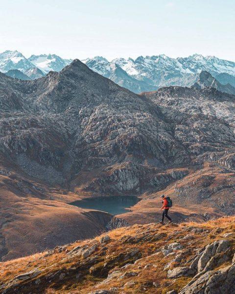 Berge sind stille Meister und machen schweigsame Schüler. 🙏😇 Goethe Eine wirklich spektakuläre ...