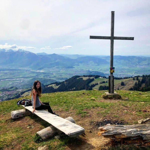 Wanderung von Viktorsberg zur First 😊 #first #viktorsberg #vorarlberg #1617m First (berg)