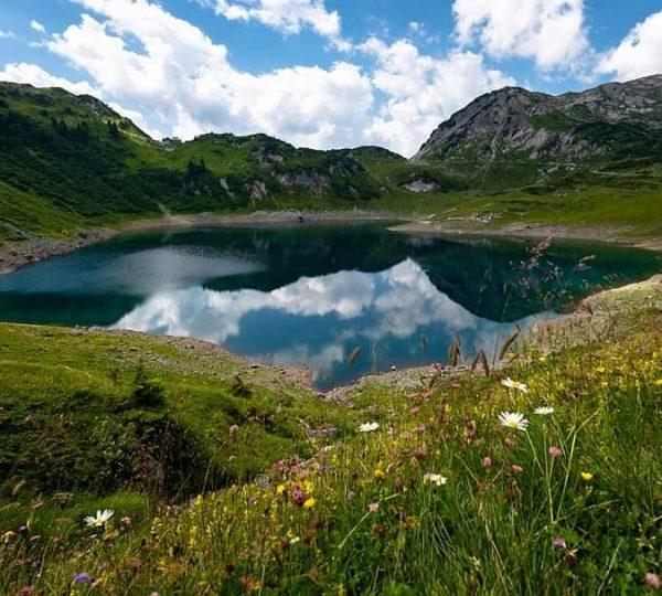 Formarinsee #9plätze9schätze ° ° ° ° #bregenzerwald #bergluft #wanderlust #hiking #memories #vorarlberg #österreich ...
