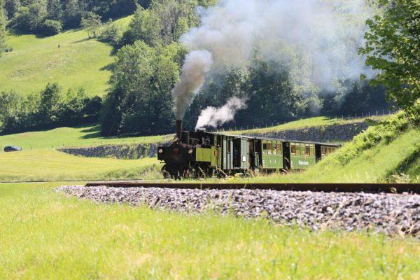 Ferien in Österreich Letztes Jahr eine Fahrt mit der Wälderbahn von Schwarzenberg nach ...