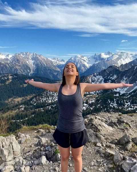 Life is meant for spectacular adventures💕⛰🏔 #mondspitze #vorarlberg #austria #österreich #hiking #wandern #nature ...