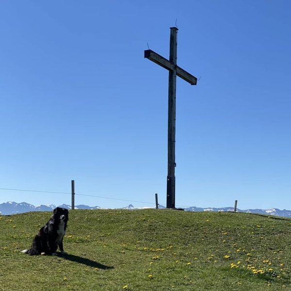 Seit mehr als 9 Wochen wieder einmal ein Morgengebet auf dem Hirschberg gebetet ...