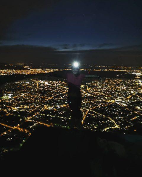 Eine sportliche Nachtwanderung auf den Karren 😊 Wunderschön wars 💪👌 . . . ...