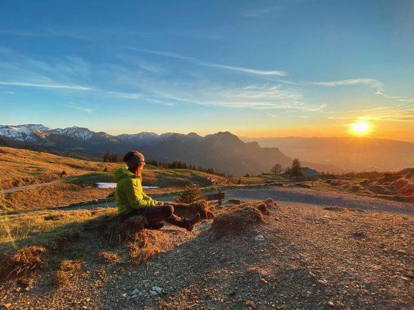 #gschwendtsattel #bödele #schwarzenberg #dornbirn #sunset #hiking #bregenzerwald #vorarlberg #bergfinkontour Bödele