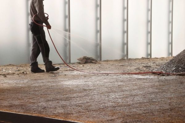 Dust, dirt and hard work at Kunsthaus Bregenz to get ready for the ...