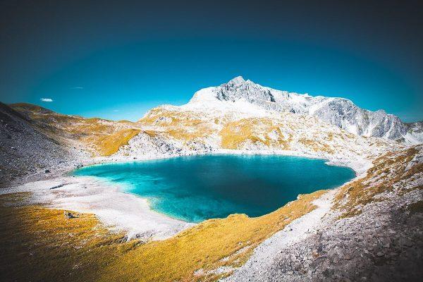Lech ⛰ #lech #lechzuers #vorarlberg #österreich #ausblick #bluesky #wanderweg #hiking #bergsommer #happyplace #tb ...
