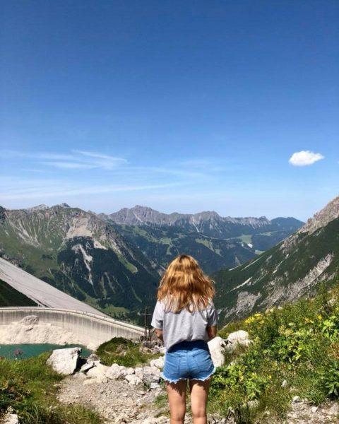 here's to another summer in austria 🇦🇹 #summer #austria🇦🇹 #vorarlberg #lünersee #sunshine #bluesky ...