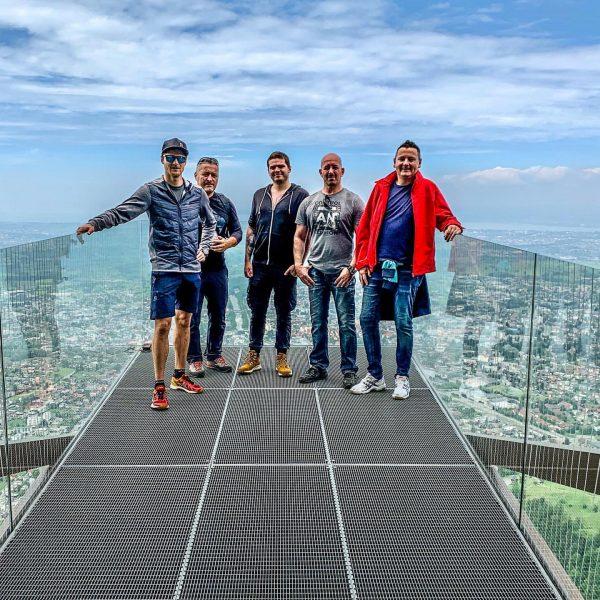 On the Top of Dornbirn . #skywalk #karrendornbirn #kollegenontour #view #bodensee #dornbirn #vorarlberg ...