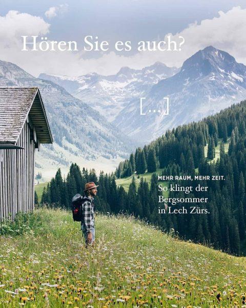 Der Lecher Bergsommer kommt näher und näher. Vom 26.Juni bis zum 27. September ...