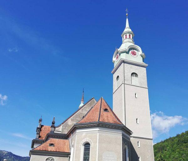 Pfarrkirche Bezau #kirche #bezau #weekend #hiking #natur #visitbregenzerwald #visitvorarlberg #qualitytime #landscape #austria #bezauimbregenzerwald ...