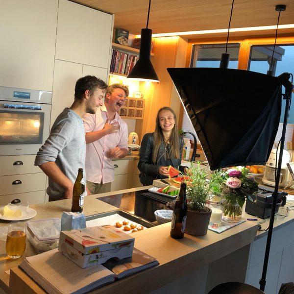 Making off von unseren neuen Mohnenfluh Moments - hat Marie-Theres, Johannes und Andrä ...