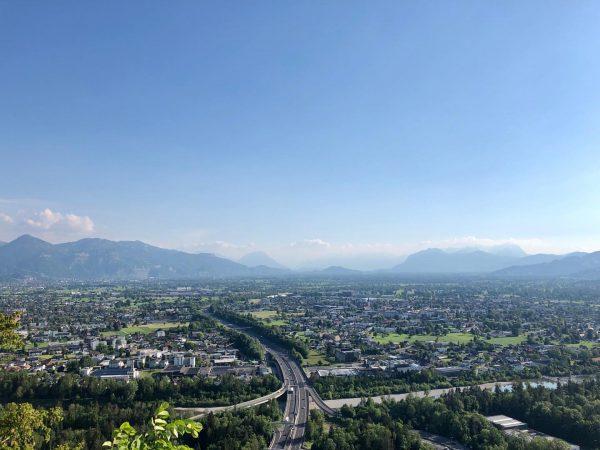 s'Ländle 💙 #bestplacetolive #viewfromgebhardsberg #rheintal #vorarlberg