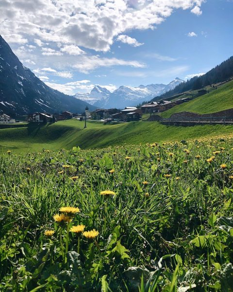 Summer is on its way 🌼 #bergsommer #venividivorarlberg Zug, Vorarlberg, Austria