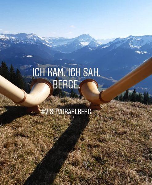 Renkknie Sibratsgfäll #venividivorarlberg #visitvorarlberg #visitbregenzerwald