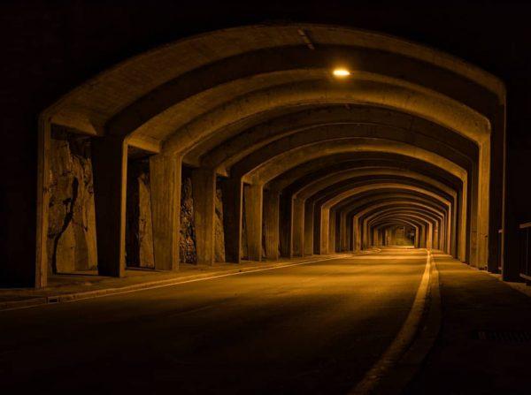 Tunnelportal Au bei Nacht, irgendwie surreal #bregenzerwald #nightphoto #nightphotos #tunnel #nightphotography #tunnels #ignature ...