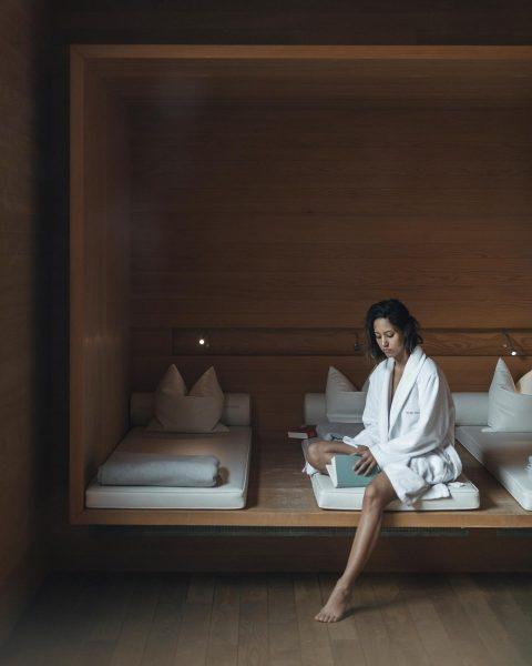 Platz zum Entspannen #redspa Rote Wand Gourmet Hotel