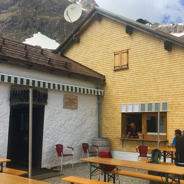 Besuch auf der Widdersteinhütte #warthschröcken #venividivorarlberg #atemderberge Widdersteinhütte