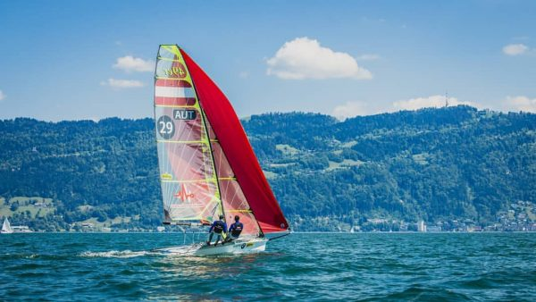 quite enthusiastic about the good conditions 😀☀️🌬️ Bodensee Bregenz