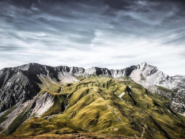 ~ Unreal mountains ~ On the top of the Plattnitzer Jochspitze and after ...