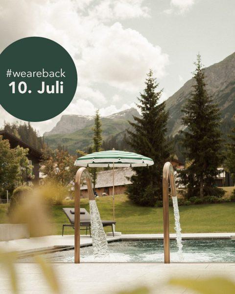 We are back! Am 10. Juli starten wir in eine neue Sommersaison und ...