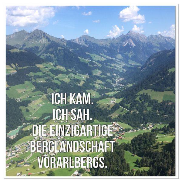 Ich kam. Ich sah. Die einzigartige Berglandschaft Vorarlbergs. #venividivorarlberg #vorarlberg #ländle #boutiquehotelmittagspitze #visitvorarlberg ...