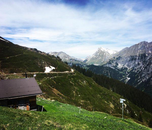 ... die SCHÖNSTEN Plätze im Klostertal ☀️⛰ •4• Thüringer Alpe mit Blick auf ...