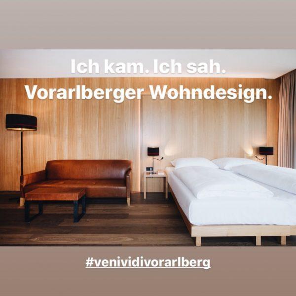 VORARLBERGER HANDWERK ist in den Zimmern & Suiten des Hotel Schwärzler erlebbar und ...