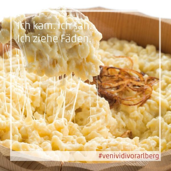 Whether Vorarlberg Kässpätzle or other delicacies - in which restaurant do you pull ...