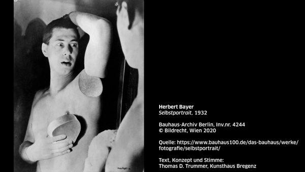 KUB Sonic Views 17: Herbert Bayer, Selbstportrait, 1932