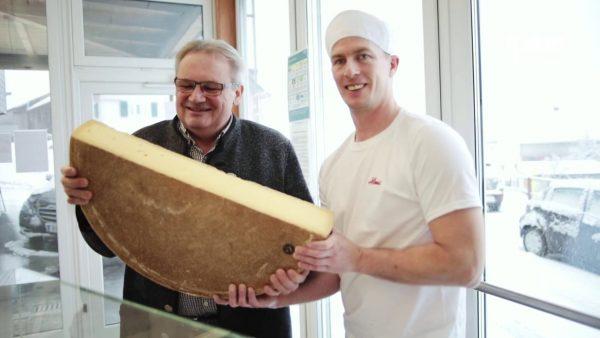 Käse in Vorarlberg