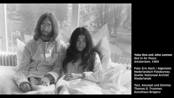 KUB Sonic Views 23: Yoko Ono und John Lennon, Bed In for Peace, ...