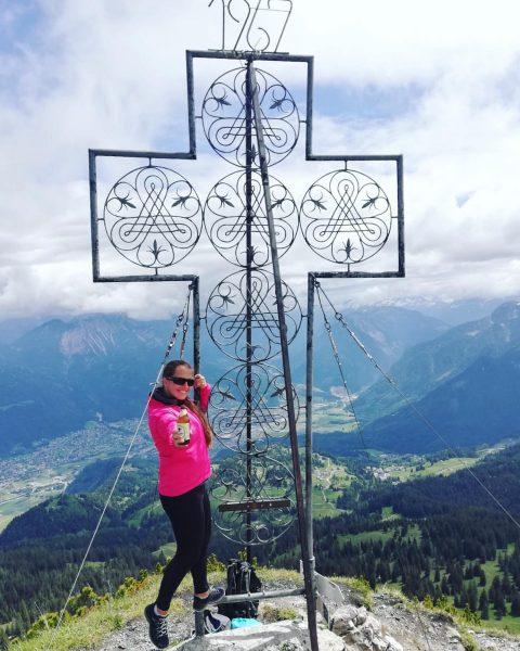 Oh du schönes Österreich 🇦🇹 #mondspitze #gipfelglück #wanderlust #vorarlberg #bergliebe ⛰ Mondspitze