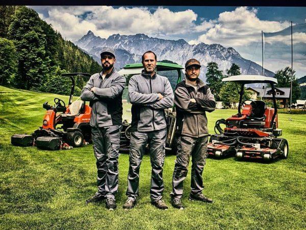 Unsere 3 Musketiere. Danke an Headgreenkeeper @thomas.tschanz.9 und seinem Team, Tobias und Darian, ...