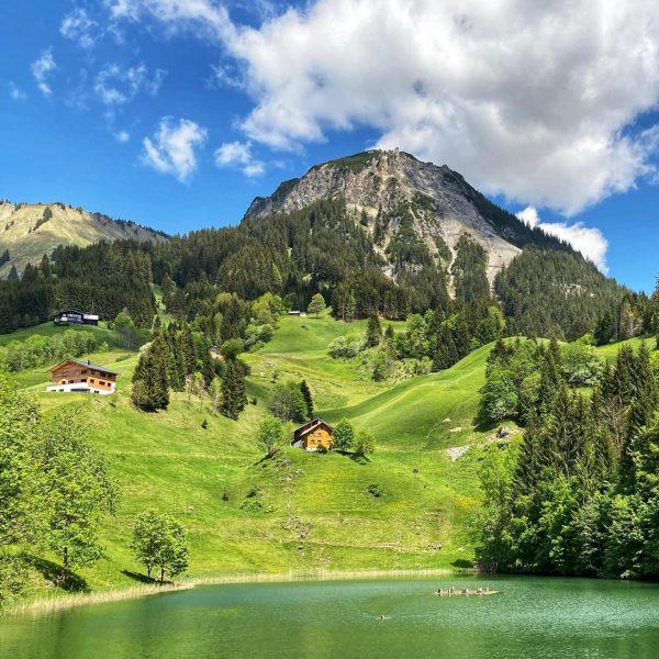#nature #naturephotography #fontanella #seewaldsee #grosseswalsertal #natureandmydogs🐾