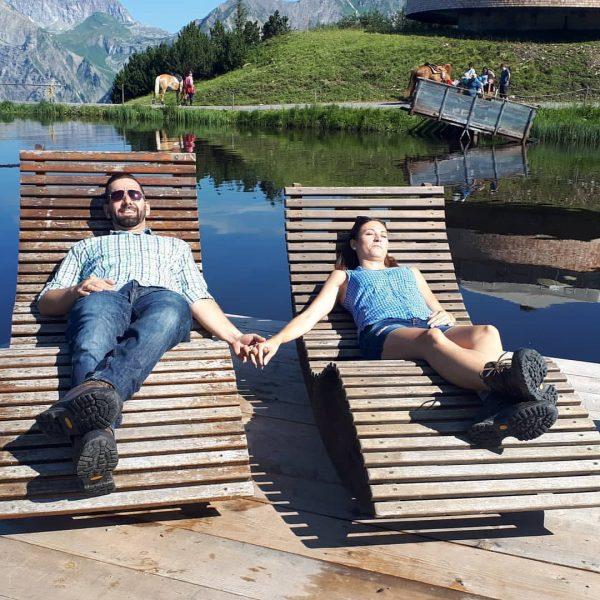Entspannen und genießen. Am 27. Juni 2020 startet der Wohlfühl- und Erlebnisberg Sonnenkopf ...