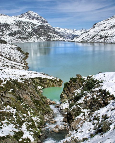 Silvretta Stausee 🇦🇹 . . . . . #tn_pics #mountains #nature #awesome #amazing ...