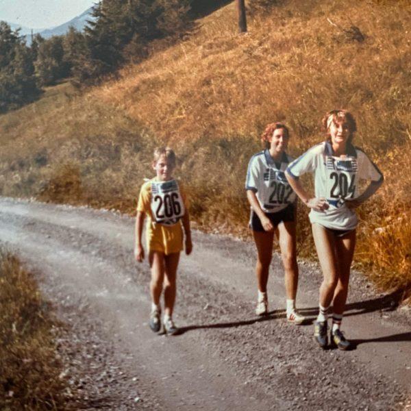 1984 - ich war damals die JÜNGSTE Teilnehmerin beim MUTTERSBERG LAUF! Unvergesslich 😊 ...