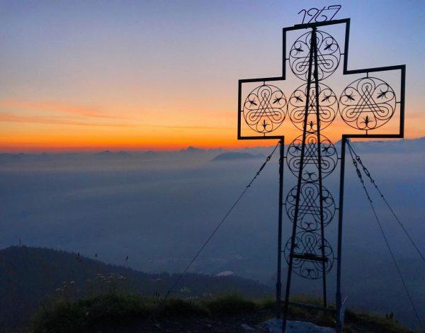 ⛰☀️ #tb #mondspitze . . . . #sunrisehike #brand #voralberg #hiking #adventure #photooftheday ...