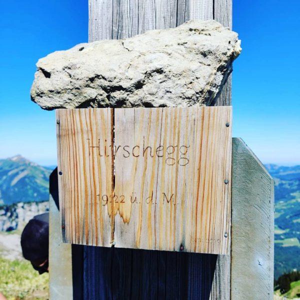 Ich kam. Ich sah. Hirscheck Sibratsgfäll #venividivorarlberg #visitvorarlberg #visitbregenzerwald #meinsibra #berge #urlaub #wandern ...