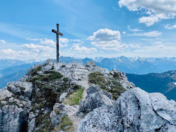#vorarlberg #österreich #montafon #rätikon #bergsteigen #latschau #gauertal #alpilaalpe #tschaggunsermittagsspitze #tschagguns Tschaggunser Mittagspitze