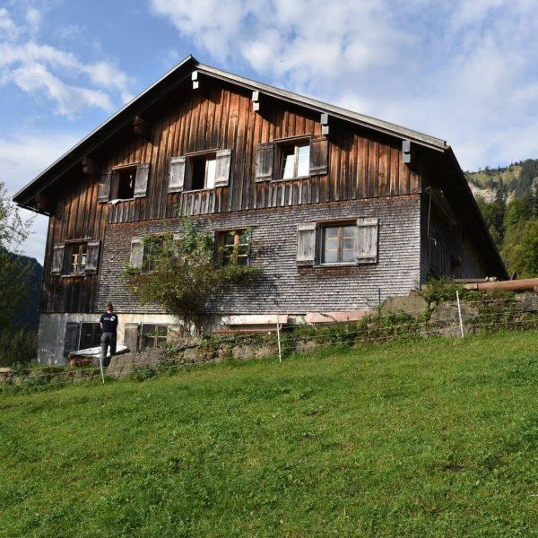 """#3 Sennalpe der KäseStrasse Bregenzerwald """"Alpe Buchen"""". Die Alpe Buchen liegt im Gemeindegebiet ..."""