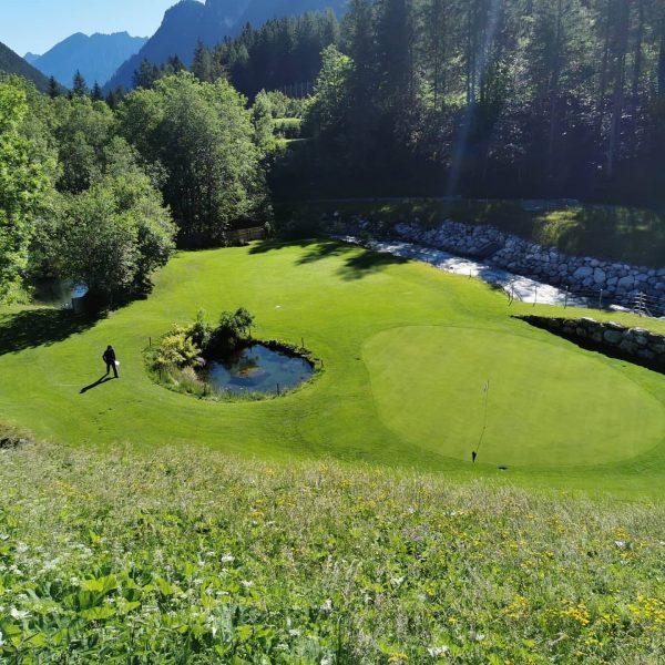 Ich kam. Ich sah. Sonne + Grün = viel Spaß. Kommt zum Alpin ...