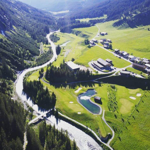 Schöne Abendgüße aus Lech what a great day #golfclublech #gclech #lechzuersamarlberg #venividivorarlberg #venividigolfclublech